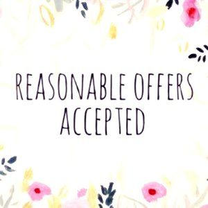 Feel Free to Make a Reasonable Offer! Click Here